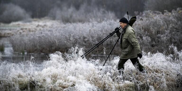 """""""Svansjön"""" - ett eldorado för fågelskådaren Lennart Swahn"""