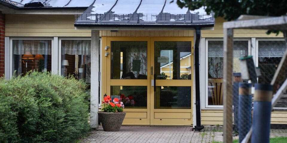 Solgårdens äldreboende i Norrhult.