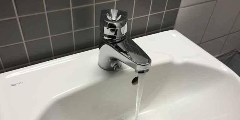 Akut vattenläcka i kommunen