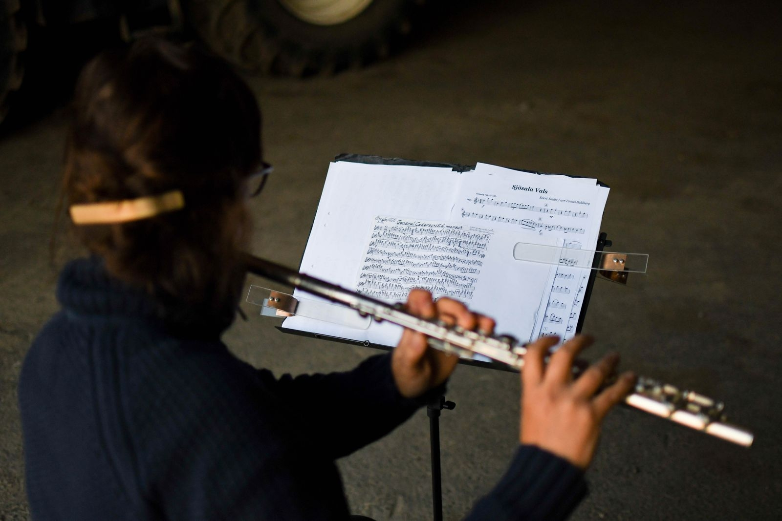 Lördagen den 4 september klockan 13 ger musikkåren en picknick-konsert.