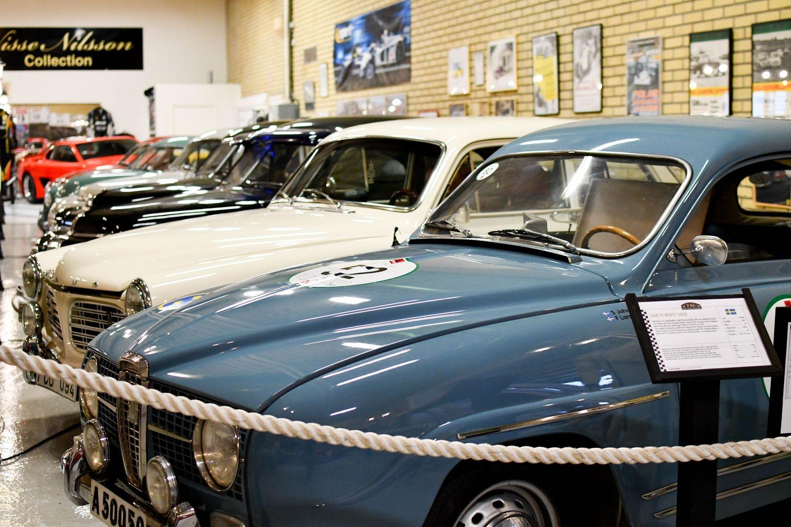 """Motorprinsens Saab Sport V4 Monte Carlo är tillbaka på Autoseum igen efter att ha varit utlånad till Stefan """"Lill-Lövis"""" Johansson."""