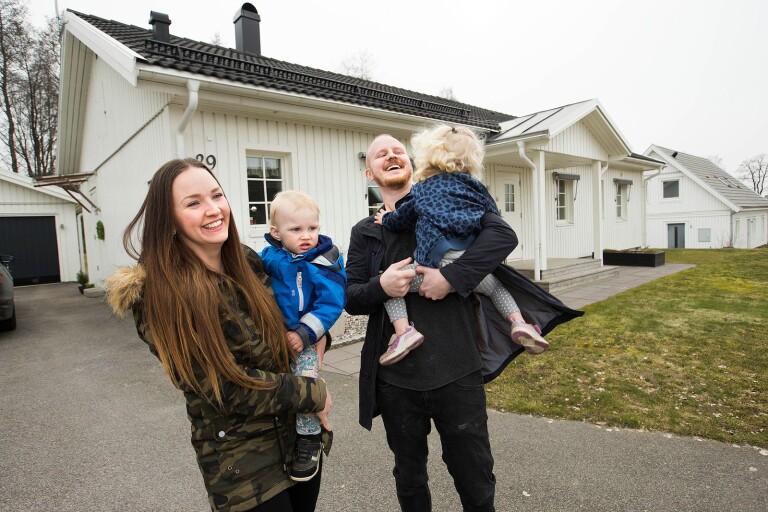 Familjen Ryttestål-Andén har hittat hem