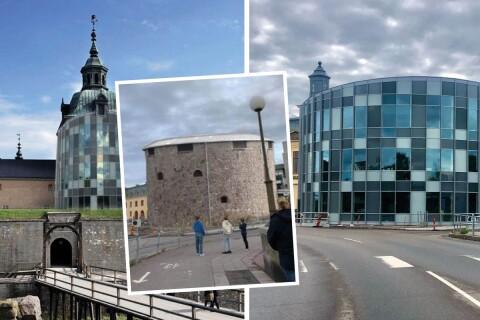 """Nybyggda glastornet roar i Kalmargrupp: """"Starka åsikter"""""""