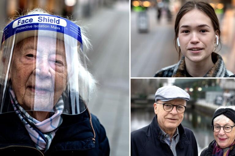 TV: Så tänker boråsarna om munskydd