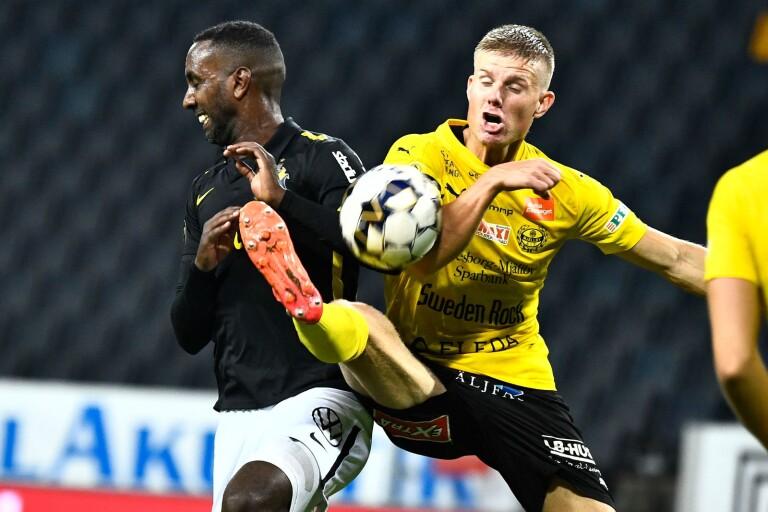 """Heroiskt kämpande Mjällby föll: """"Oerhört frustrerande"""""""