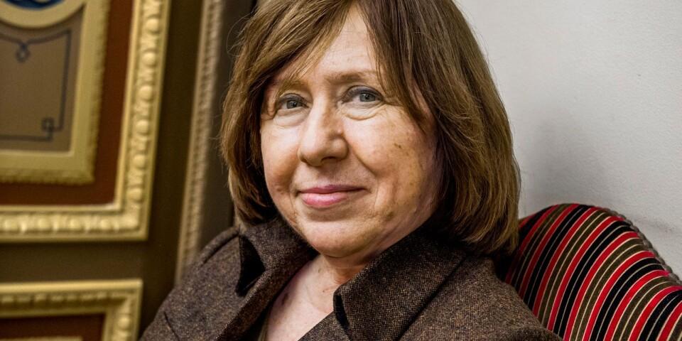 Svetlana Aleksijevitj fick Nobelpriset i litteratur för fem år sedan.