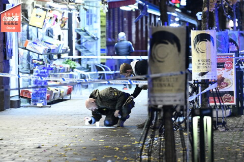 Polisen Kraftsamlar Efter Skjutningar I Malmo Ya