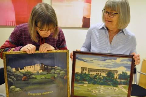 Efterlyser målningar och souvenirer för utställning om slottsruinen