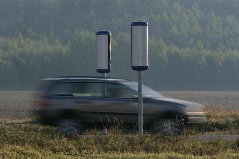 Småland: Fångades av tre fartkameror – samma morgon