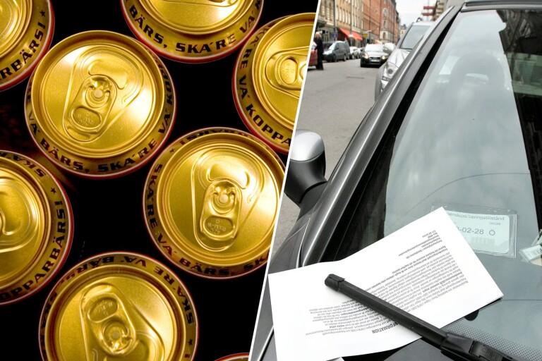 Använde jobbets bil på fritid – nycklar beslagtogs av Systembolagets personal