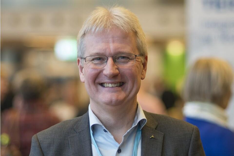 Mikael Ekström är digitaliseringsrådgivare på TietoEvry och söker nya digitaliseringsprojekt som företag vill ha hjälp med av företagets studenter.