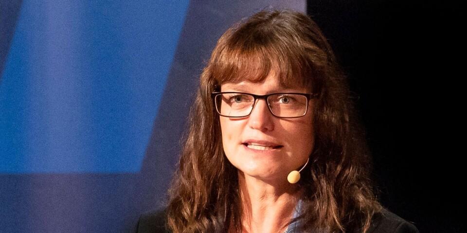 Anna Svalander (L).