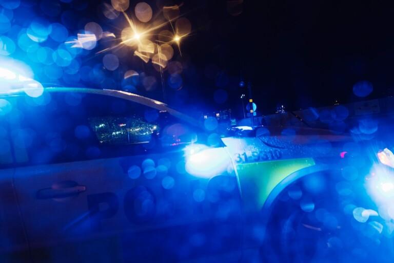 STOCKHOLM 20171209 Polisbil.  Foto: Stina Stjernkvist / TT Kod 11610
