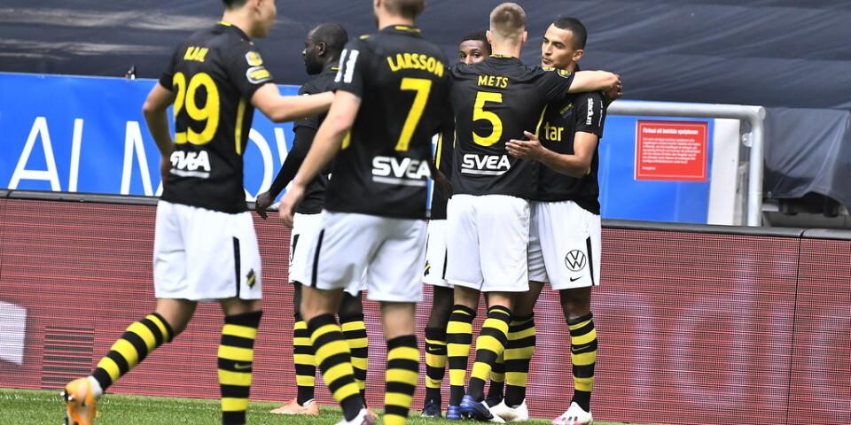 Nabil Bahoui gjorde AIK:s 1–0-mål.