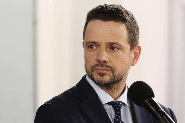 Warszawas borgmästare Rafal Trzaskowski utmanar sittande Andrzej Duda i Polens presidentval. Arkivfoto.