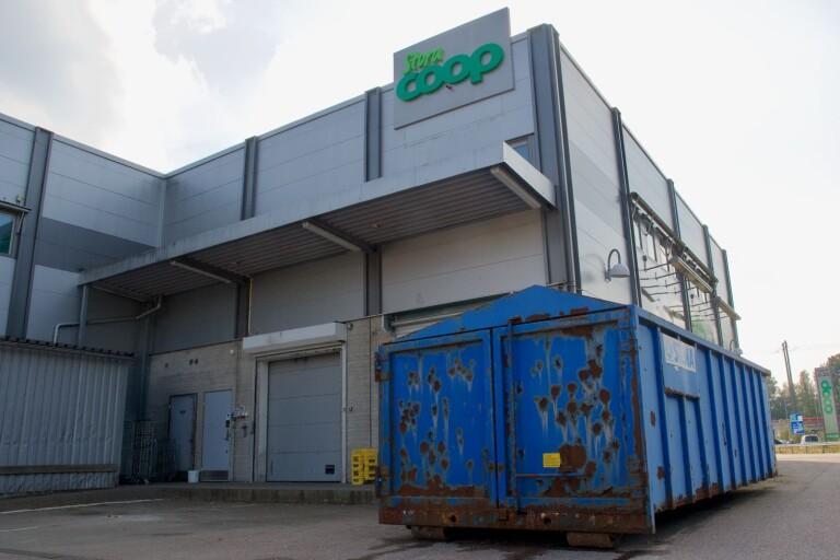 Udda stöld i natt: Fem ton tung maskin försvann från Växjöbutik