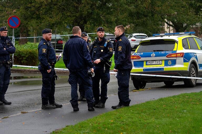 Ung man skjuten i Kristianstad