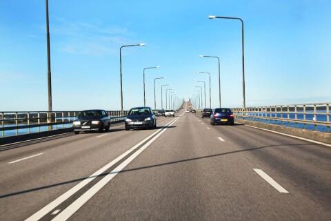 Ska spela in Volvoreklam – Vill stänga av Ölandsbron