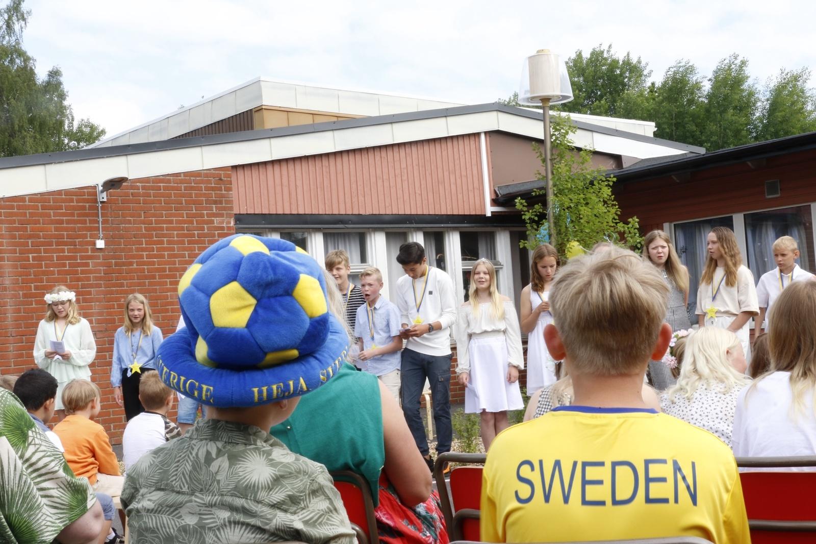 Skolavslutning 2021, Vegby skola
