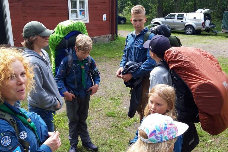 Insändare: Mycket lyckat när Tallhagens scoutkår åkte på läger