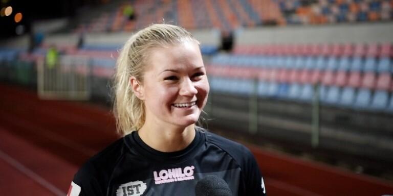 """TV: """"Jag är så stolt"""" säger Växjö DFF:s 1–0-målskytt"""