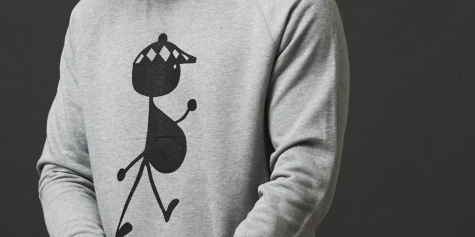 Bob på tröjan från BOB Reykjavik.