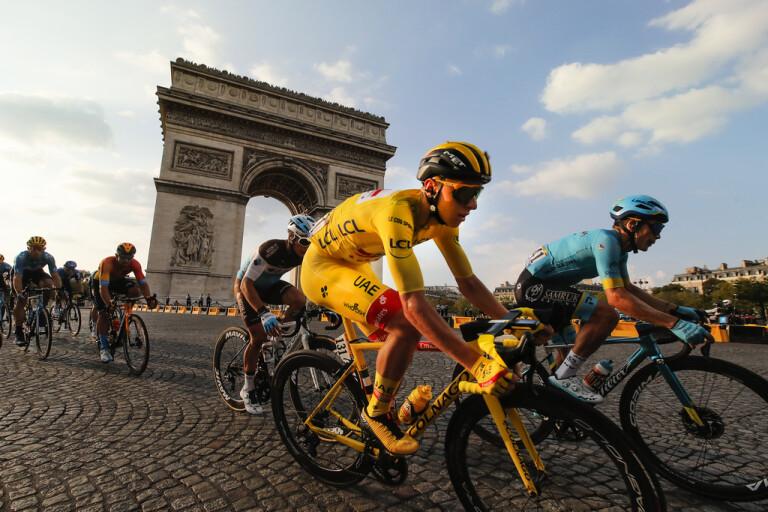 Pogacar vann Tour de France