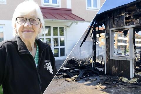 """Grannar i chock efter misstänkt mordbrand: """"Ett lugnt område"""""""