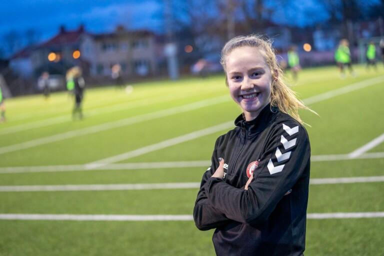 """Mathilde Janzen: """"Jätteroligt och en stor ära att få debutera i A-laget"""""""