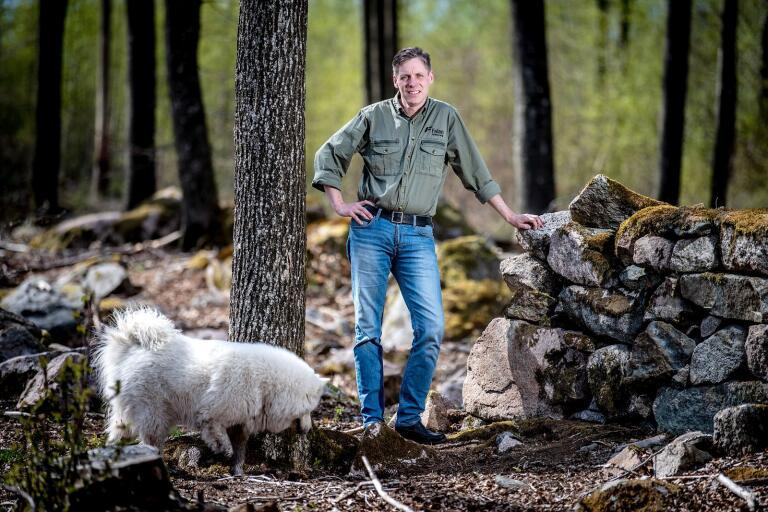 Kristian Isberg är ny vd för Falan Skog AB.