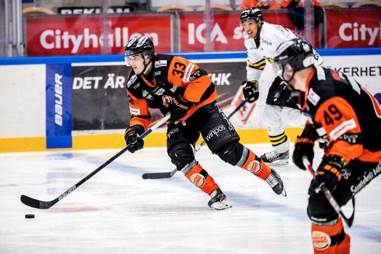 Hannes Johansson är tillbaka i Tingsryd igen.