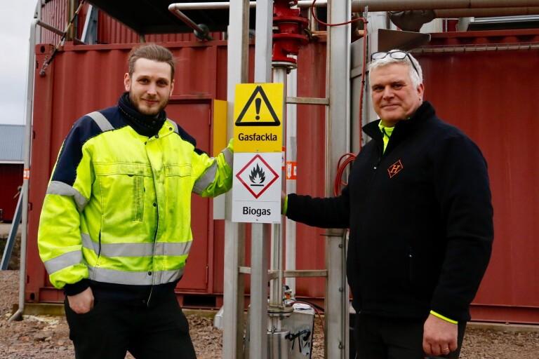 """Biogasentreprenörer har framtidstro: """"Verkligen winwin"""""""