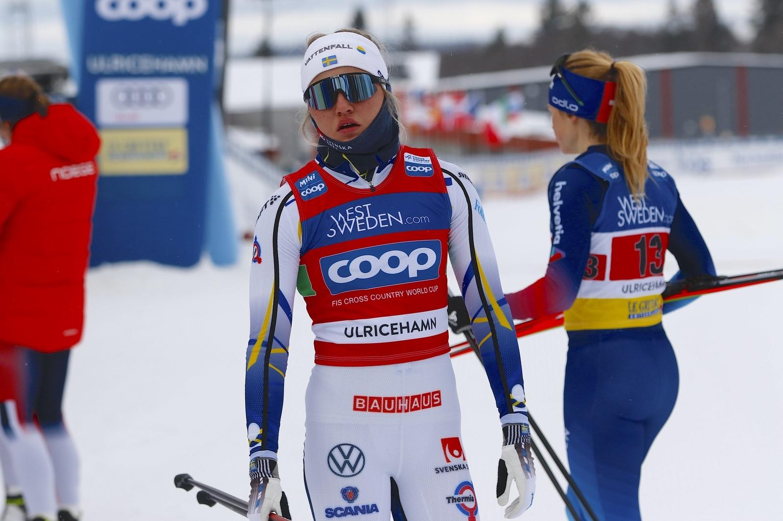 Världscupen i Ulricehamn 2021TeamsprintLinn Svahn