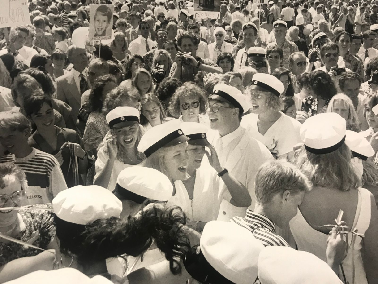 Studentyra på Lars Kaggskolan 1992.