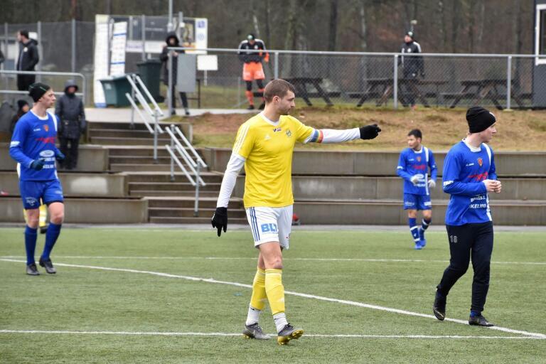 Kalle Lindqvist har för vana att göra mål. Lördagens träningsmatch mot Saxemara utgjorde inget undantag i statistiken.