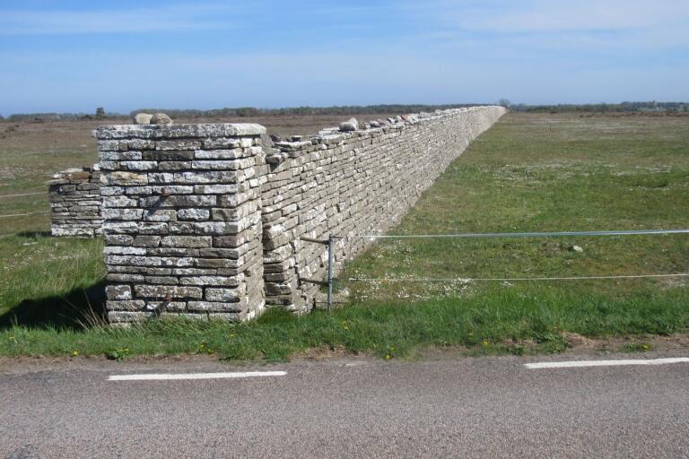 Karl X:s mur som avgränsar Ottenby kungsgård från resten av Öland byggdes av straffångar och andra tvångsinkallade arbetare under Carl Gustafs tid på Öland. Carl Gustaf sägs ha lett arbetet i egen hög person.