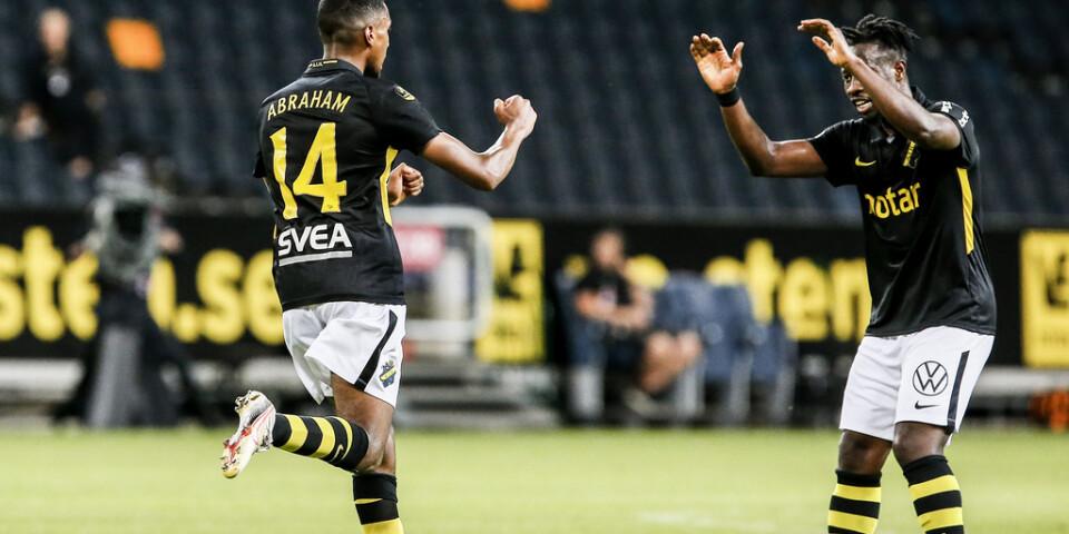 Paulos Abraham räddade poäng för AIK.