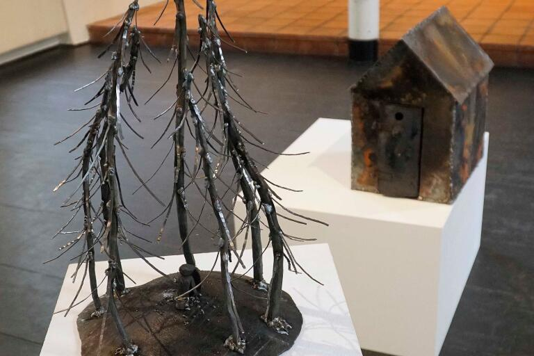 Skulptur av Sian Hedberg.