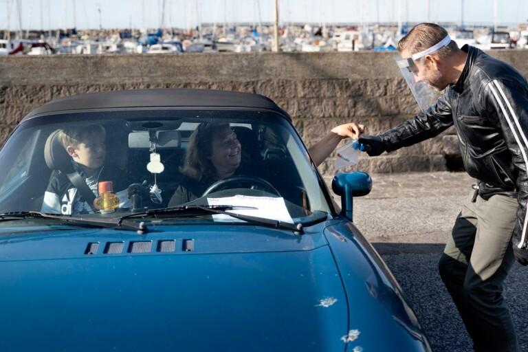 Nu kan du göra coronatest – från bilen