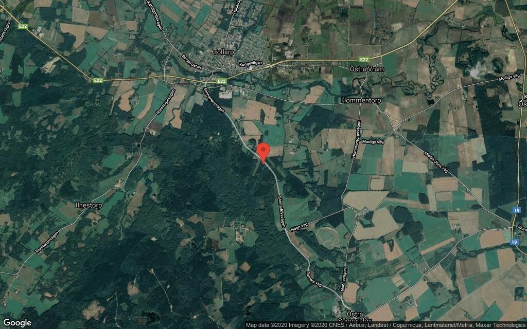 22-åring ny ägare till mindre hus i Tollarp – prislappen: 604000 kronor