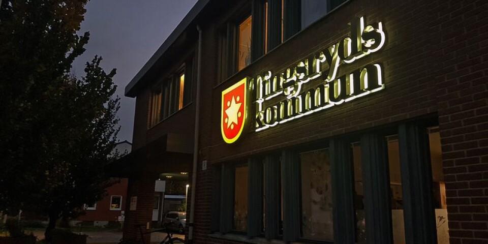 Tingsryds komI Tingsryds kommun har Socialdemokraterna och Kristdemokraterna brutit samarbetet med Moderaterna.mun.