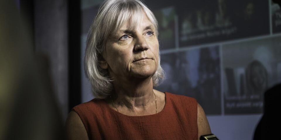 Marie Ehrling tvingas lämna rollen som styrelseordförande för Telia i förtid. Arkivbild.