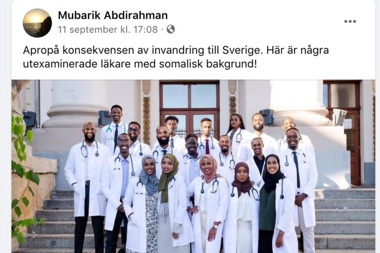 Självklart kan somalier bli läkare, men...