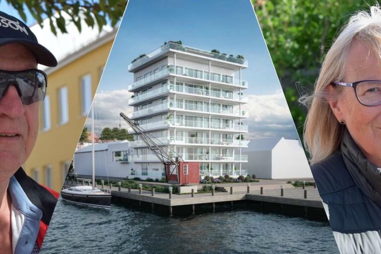 """Folket: """"Så tycker vi om byggplanerna i hamnen"""""""
