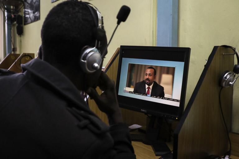 AU-sändebud i Addis Abeba för medling