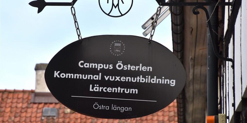 Med Campus Österlen kan Simrishamn som enda kommun i sydöstra Skåne erbjuda hela utbildningskedjan, från förskola till högre studier.