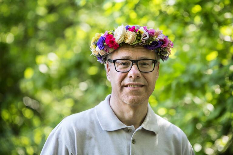 """Torbjörn Johannesson är lyssnarnas sommarvärd i årets """"Sommar i P1"""". Pressbild."""