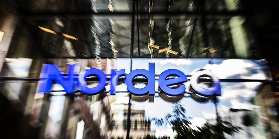 Nordea är en av bankerna som förekommer i läckan. Arkivbild.