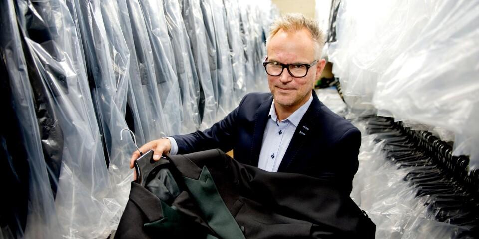 Butiksägaren Fredrick Björling ser ljust på framtiden.