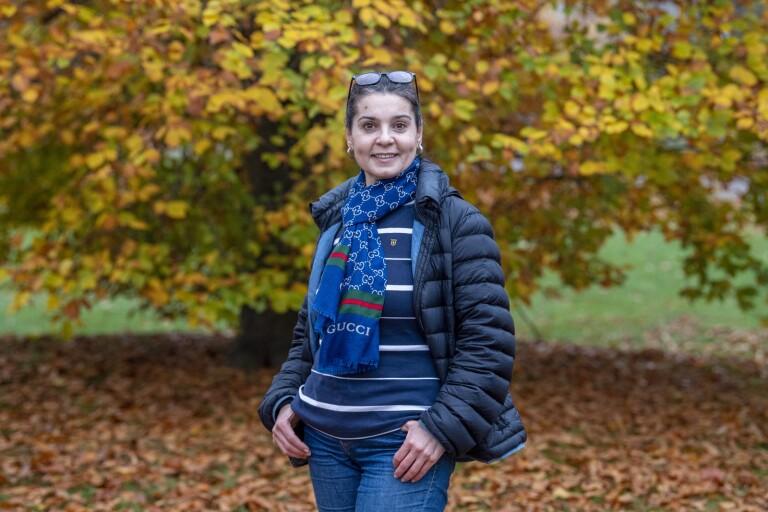 Maryam Ahmed – från tv-kändis i Syrien till doldis i Växjö